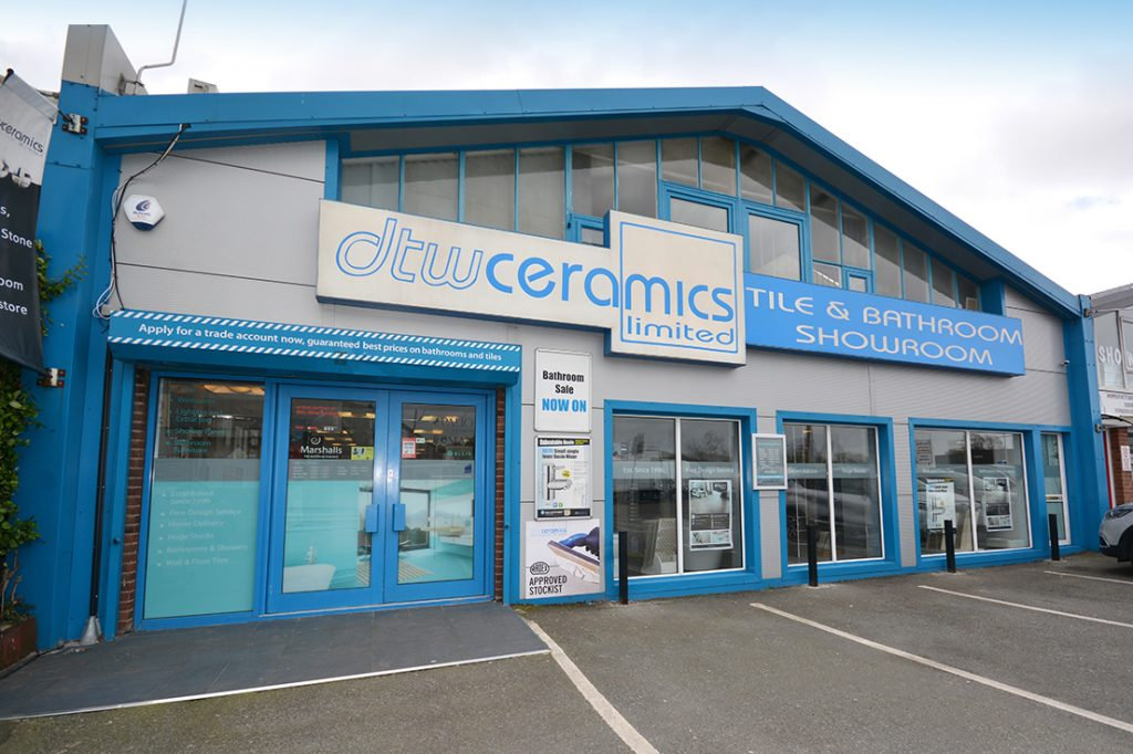 DTW Ceramics Portsmouth Showroom Front