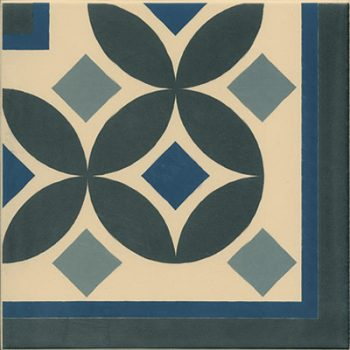 Abstract Guell Corner Tile