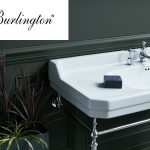 Burlington large wash basin with a chrome wash stand