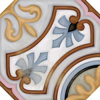 Cabaret Diglas Pattern Octagon tile