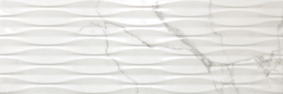 Marble Effect Structured Statuario 900x300mm