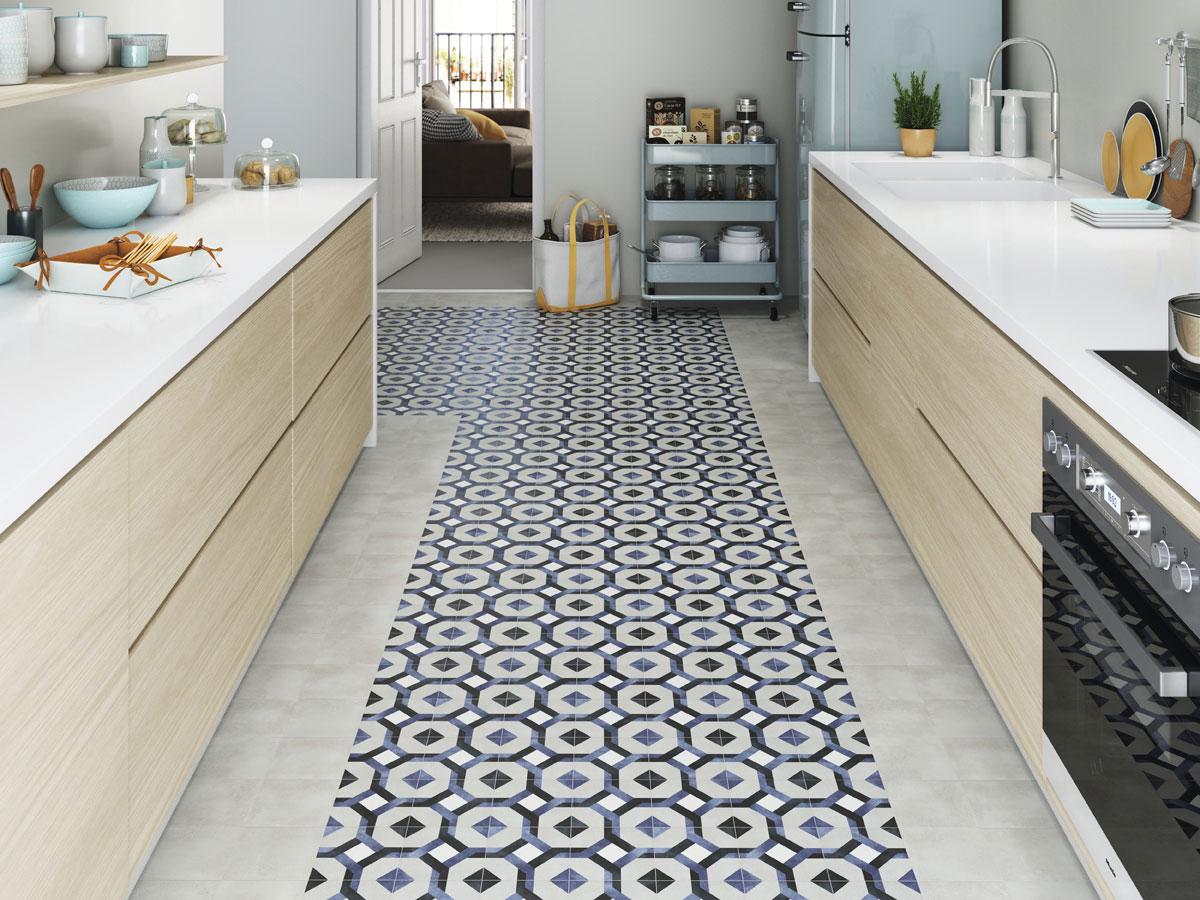 Fleur Wall Floor Tiles Patterned Floor Tiles Dtw Ceramics Uk Ltd