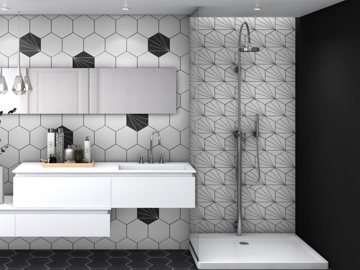 Aster Hexagon Wall & Floor Tiles - Hexagon Tiles - DTW ...